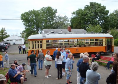 Shoreline Trolley Museum Ride