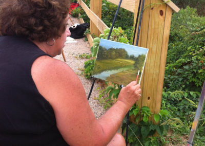 En Plein Air Painter-Madison