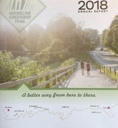 Hot off the Presses! Shoreline Greenway Trail's 2018 Annual Report!