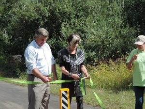 Tabor Trail Ribbon Cutting a Great Success